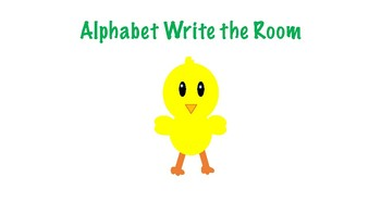 Spring / Easter Write the Room