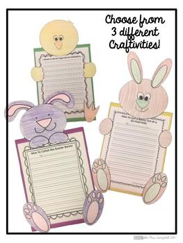 Spring/Easter Writing Craftivity