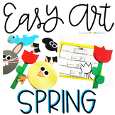 Spring Easy Art: Adapted Art and Writing Pack