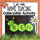 Spring Editable Name Writing Practice