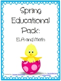 Spring Educational Bundle: ELA and MATH