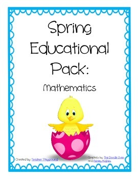 Spring Educational Pack: MATH