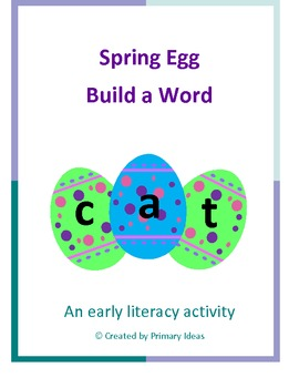 Spring Egg Build a Word
