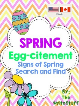 Spring Egg-Citement! {Freebie}