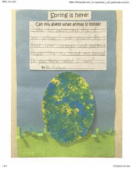 Spring Egg Craft