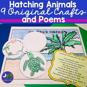 Hatching Animals 9 Original See Inside Lift a Flap Crafts