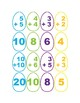 Spring Egg Hunt Alphabet & Math Matching Game
