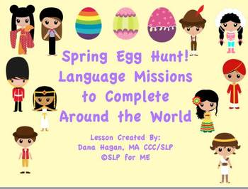 Spring Egg Hunt!  Language Missions to Complete Around the World