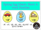 Spring Egg Match- Short A Word Families