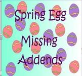 Spring Egg Missing Addend