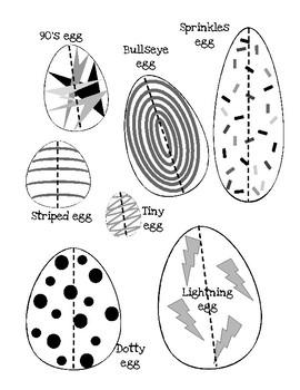 Spring Eggs Measuring
