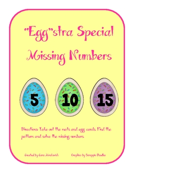 "Spring: ""Egg""stra Special Missing Numbers"