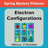 Spring: Electron Configurations - Chemistry Mystery Pictures