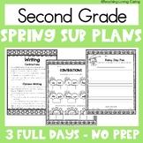 Emergency Sub Plans | Second Grade | Spring
