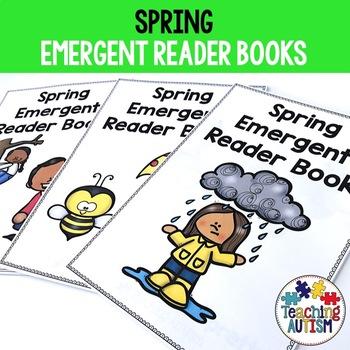Spring Emergent Reader Books
