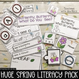 Butterfly, Butterfly, What do you see Spring Emergent Reader+Matching Activities