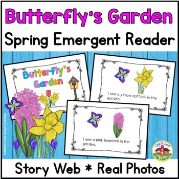 Spring Emergent Reader and Story Web: Butterfly's Garden