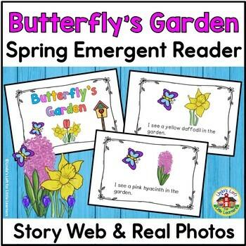 Spring Emergent Reader: Butterfly's Garden