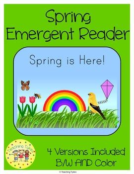 Spring Emergent Reader