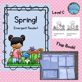 Spring Emergent Reader Level C Spring Activiites