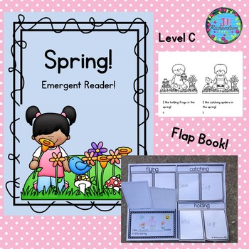Spring Emergent Reader Level C Spring Activiites
