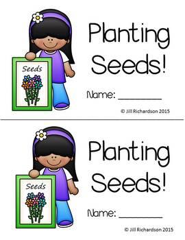 Spring Emergent Reader- Planting Seeds Emergent Reader!      Level C
