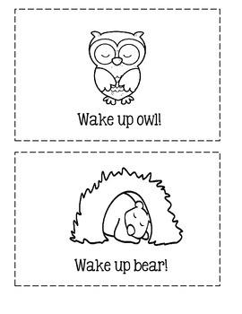 "Spring Emergent Reader ~ ""Wake Up"""
