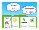 Spring Emergent Reader for Signs of Spring