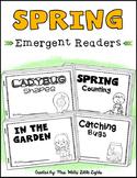 Spring Emergent Readers (4 Readers)