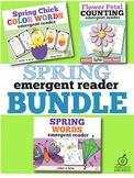 Spring Emergent Readers Bundle