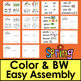 Spring Activities: Mini Books: 3 Levels + Illustrated Word Wall - Differentiate!