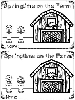 Spring Emergent Readers and Response Activities (A Growing Bundle)