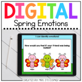 Spring Emotions Digital Activity | Distance Learning
