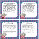 Spring / End of Year Main Idea and Supporting Details Task Cards Activity