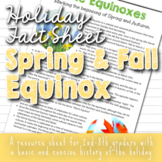 Spring Equinox for Kids (and Autumn) - Vernal/Autumnal Equ