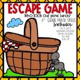 Spring Escape Room 1st grade Math Skills