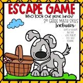 Spring Escape Room 3rd grade Math Skills
