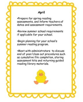 Spring Essentials for the Busy Literacy Coach and Reading Specialist