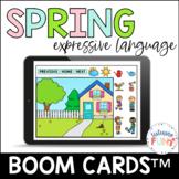 Spring Expressive Language Boom Cards™