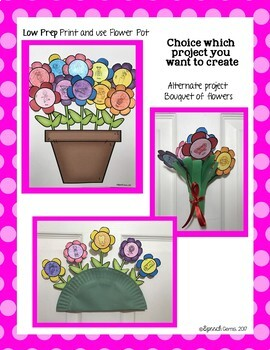 Spring Flowers Articulation & Language Craft