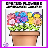 Spring Articulation and Language Flower Craft