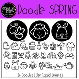 Spring FONT {Creative Clips Clipart}