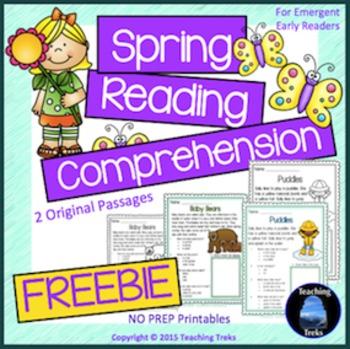 Spring Reading FREE