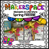 Spring FREEBIE MakerSpace Moments in Literature