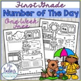 Spring FREEBIE {First Grade Spring} Number of the Day