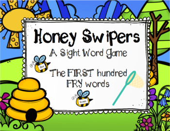 Spring FRY Sight Word Game