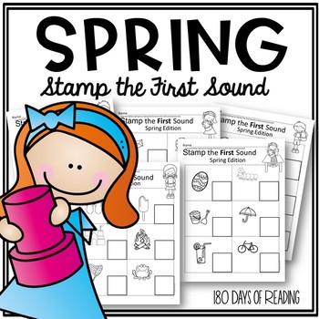 Spring First Sound Fluency
