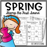 Spring FSF First Sound Fluency:  Stamp the First Sound