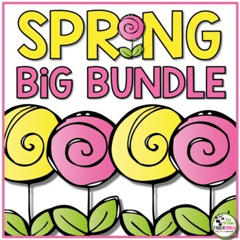 Spring Activities BIG Bundle