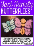 Spring Fact Family Butterly Craft
